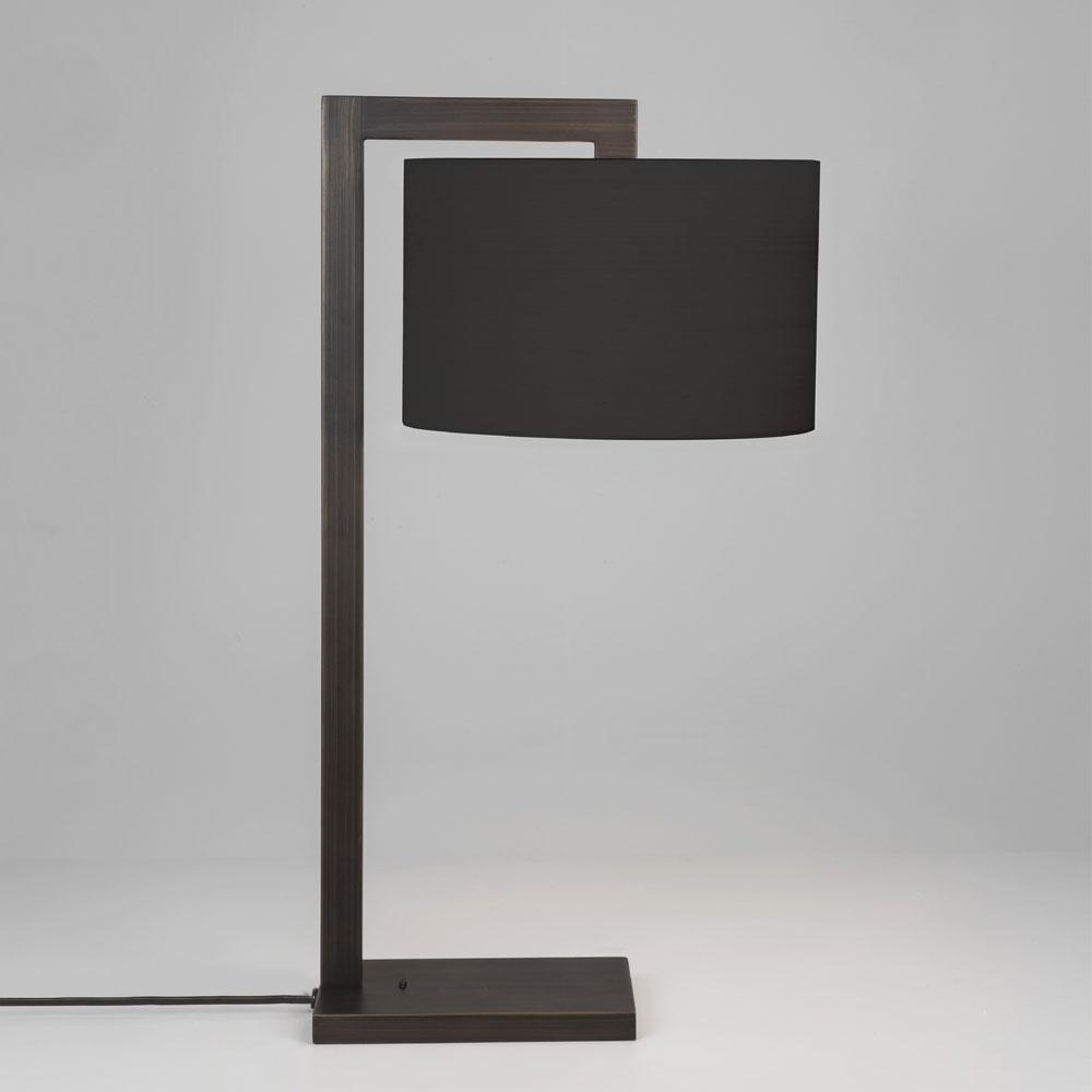 Overhead Dark Bronze Table Lamp